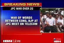 2G Scam: Row at JPC meet over witnesses