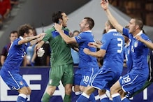 Italy beat England 4-2 on penalties to reach SF