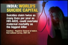 Suicide rate among the youth highest in India