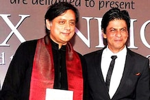 Shah Rukh Khan at Shashi Tharoor's book launch