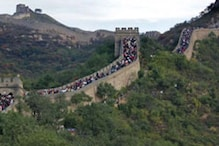 Section of China's Great Wall collapses in rains