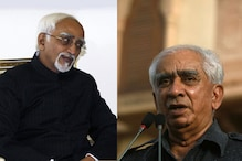 V-P poll on Tuesday, Ansari faces Jaswant