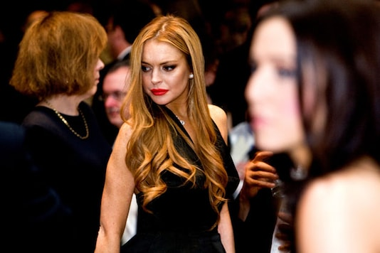 Lindsay Lohan Charlie Sheen In Scary Movie 5