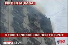Fire in residential building in South Mumbai