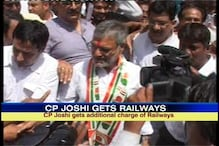 Joshi gets additional charge of Railway, says it's a big responsibility