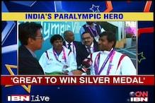 India's Paralympic hero Girisha over the moon