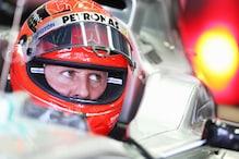 Schumacher crashes in Japanese GP practice