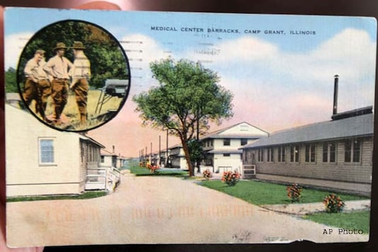 Postcard mailed during WW II arrives at NY home
