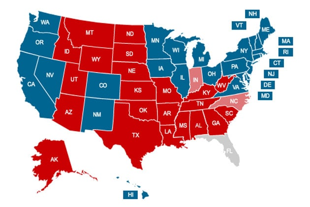 Interactive and embeddable: US presidential elections 2012 results ...