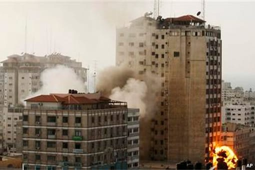 Israel, Hamas trade fire and tough truce proposals