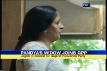 Guj: Keshubhai's party gives poll ticket to Pandya's wife