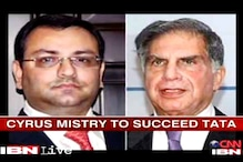 Cyrus Mistry to succeed Ratan Tata on December 28