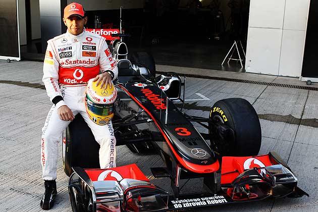 In pics: Lewis Hamilton's McLaren's journey - Photogallery
