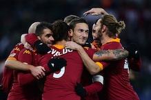 Totti scores twice as Roma beat Fiorentina 4-2 in Serie A