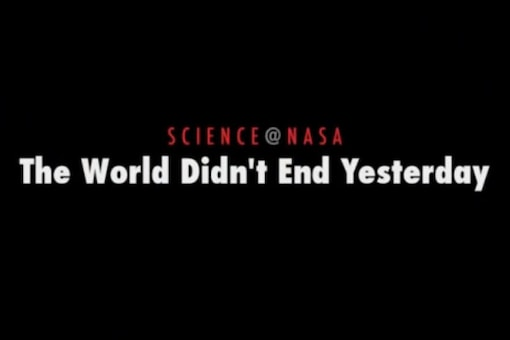 Watch: NASA releases December 21 video 10 days early