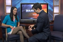 News anchor proposes to his girlfriend during live show