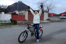 Jet engine powered bicycle