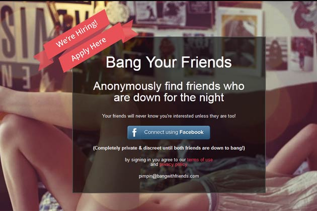 Sex with friends app