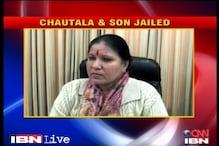 Watch: Reactions to OP Chautala's sentencing in teachers' job scam