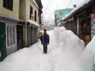 In pics: Snow envelopes North India