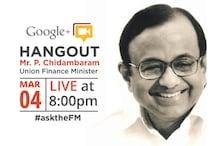 Read transcript of Chidambaram's Google+ Hangout