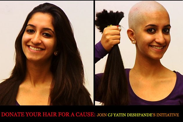 CJ's initiative to donate hair for Cancer patients