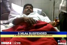 Maharashtra: Five MLAs suspended for beating up policeman