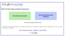 Google site tracks information on Boston runners