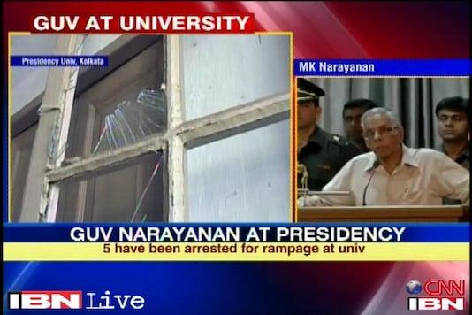 I failed you as a Governor: Narayanan at Presidency College