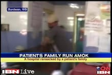 WB: Angry relatives of patient vandalise hospital after newborn dies