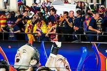 In pics: Man United, Barcelona Victory Parade