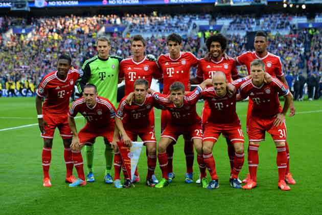 In Pics Champions League Final Borussia Dortmund Vs Bayern Munich Photogallery