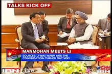 PM meets Chinese Premier, stresses on the need for peace on the border