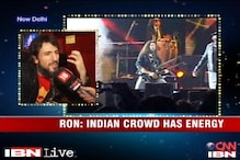 Guns N' Roses lead guitarist Ron 'Bumblefoot' performs in India