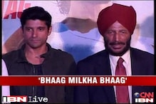 Sportsman Milkha Singh launches the music of 'Bhaag Milkha Bhaag'