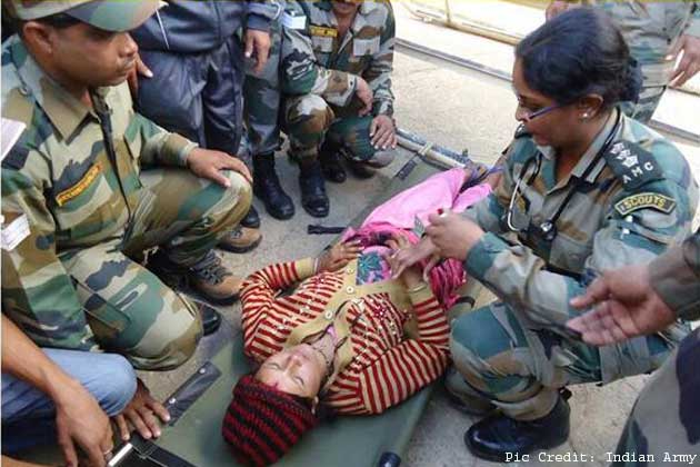 Uttarakhand: Woman, who delivered baby with help of Army