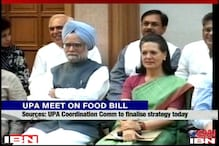 UPA Coordination Committee to finalise Food Bill today