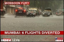 Incessant rains hit air traffic in Mumbai, 6 flights diverted