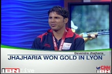 World champion Devendra Jhajharia is back home!