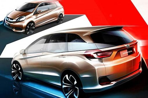 Sketch of new Honda Brio-based MPV released in Indonesia