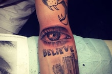 Justin Bieber's new tattoo is a watchful eye