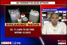Pay Rs 3 lakh compensation to acid attack victims: SC to state govts