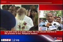 Sexual assault case: Gehlot meets Shinde, says Asaram not above law
