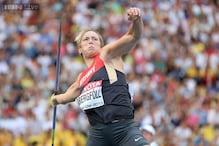 Christina Obergfoell wins women's javelin in Moscow