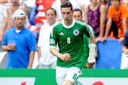 Julian Draxler out of Germany friendly with Paraguay