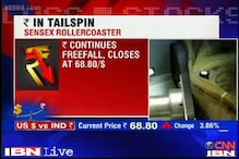 News 360: Rupee continues its free fall, hits life low
