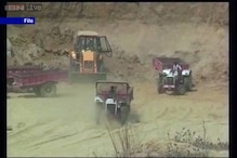 MP: 51 trucks loaded with illegally mined sand seized