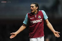 West Ham striker Andy Carroll suffers new foot injury