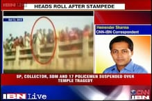 Madhya Pradesh: 21 officials suspended over temple stampede in Datia