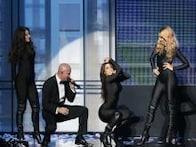 Photos: Miley Cyrus, Lady Gaga's dramatic performances at Amercian Music Awards
